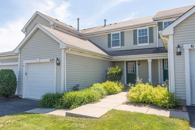 669 Chestnut Ridge #669, Minooka, IL 60447 (MLS #10677668) :: Property Consultants Realty