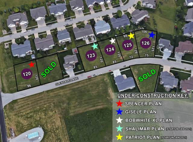 Lot 123 Glendale Lane, Normal, IL 61761 (MLS #10719079) :: The Dena Furlow Team - Keller Williams Realty