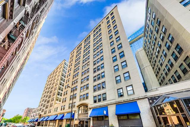740 S Federal Street #1110, Chicago, IL 60605 (MLS #10719257) :: Property Consultants Realty