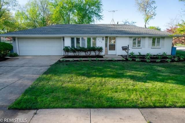 828 Santuit Court, Schaumburg, IL 60194 (MLS #10720539) :: Angela Walker Homes Real Estate Group