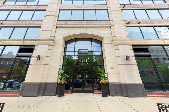 451 W Huron Street #611, Chicago, IL 60654 (MLS #10721555) :: Touchstone Group