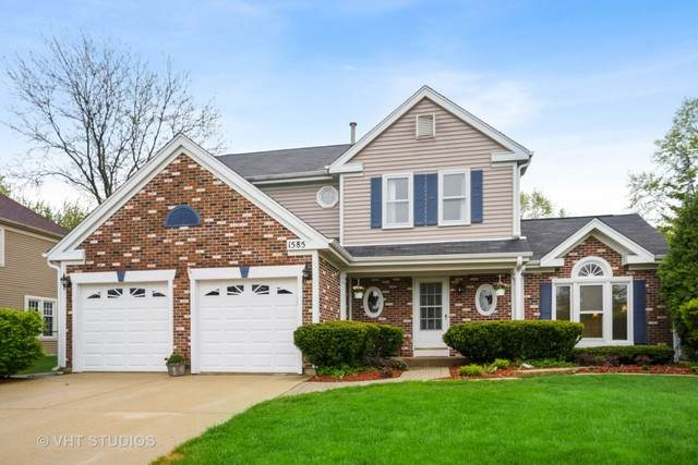 1585 Westbury Drive, Hoffman Estates, IL 60192 (MLS #10722926) :: Ani Real Estate