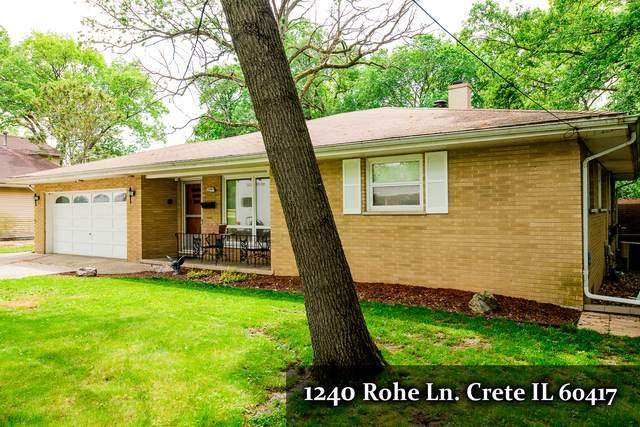 1240 Rohe Lane, Crete, IL 60417 (MLS #10732848) :: O'Neil Property Group