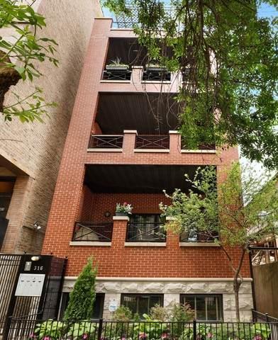 316 W Evergreen Avenue A, Chicago, IL 60610 (MLS #10735831) :: John Lyons Real Estate