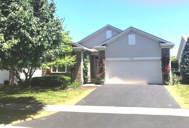 671 S Wellston Lane, Romeoville, IL 60446 (MLS #10741155) :: John Lyons Real Estate