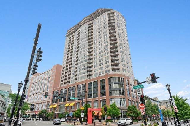 807 Davis Street #2103, Evanston, IL 60201 (MLS #10757542) :: Property Consultants Realty