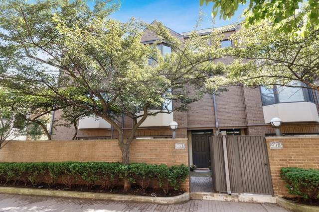 2019 N Halsted Street A, Chicago, IL 60614 (MLS #10780583) :: Angela Walker Homes Real Estate Group
