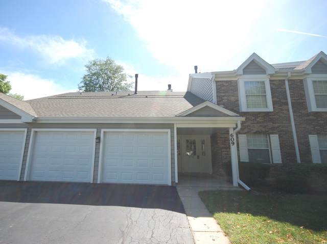 609 Fairbanks Court W2, Schaumburg, IL 60194 (MLS #10786814) :: Helen Oliveri Real Estate