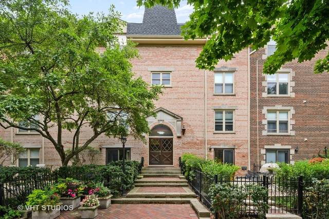 860 Forest Avenue A, Evanston, IL 60202 (MLS #10800369) :: John Lyons Real Estate