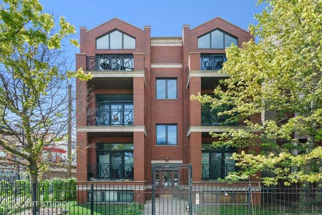 2215 W Augusta Boulevard 3W, Chicago, IL 60622 (MLS #10801602) :: Property Consultants Realty