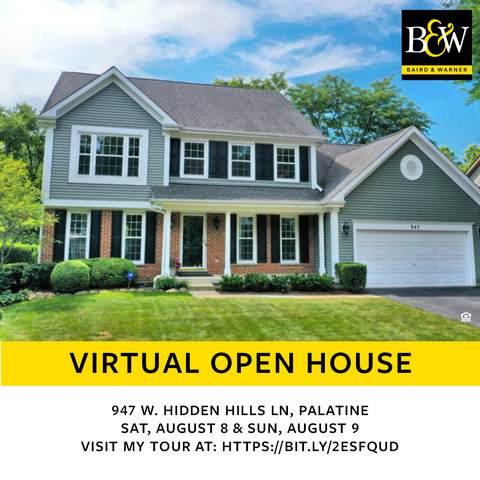 947 W Hidden Hills Lane, Palatine, IL 60067 (MLS #10806415) :: Lewke Partners