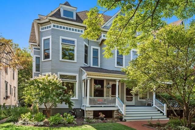 1332 Hinman Avenue, Evanston, IL 60201 (MLS #10812623) :: John Lyons Real Estate