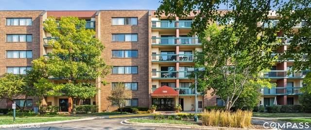 1800 Huntington Boulevard #309, Hoffman Estates, IL 60169 (MLS #10827952) :: John Lyons Real Estate