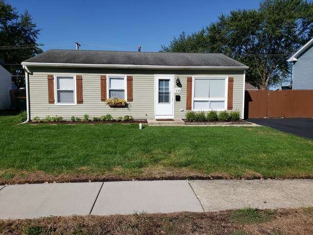 330 Fremont Avenue, Romeoville, IL 60446 (MLS #10829678) :: Littlefield Group