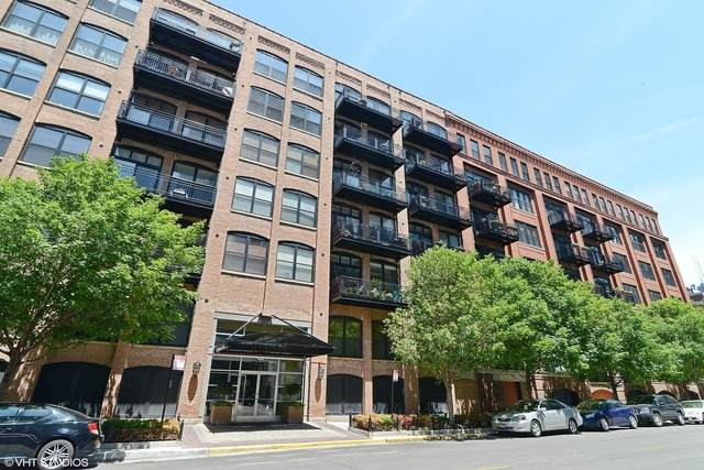 520 W Huron Street #419, Chicago, IL 60654 (MLS #10841403) :: Littlefield Group