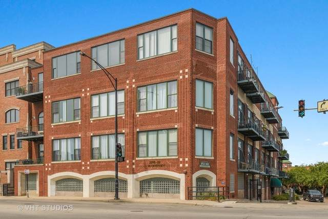 2222 W Diversey Avenue #409, Chicago, IL 60647 (MLS #10850011) :: BN Homes Group