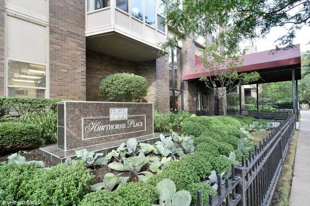 525 W Hawthorne Place #2508, Chicago, IL 60657 (MLS #10916154) :: The Dena Furlow Team - Keller Williams Realty