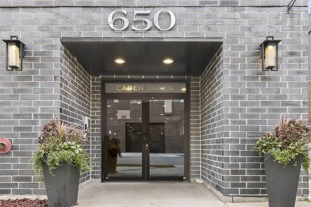 650 N Morgan Street #605, Chicago, IL 60642 (MLS #10921460) :: Suburban Life Realty