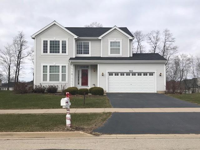 543 Parkside Lane, Yorkville, IL 60560 (MLS #09815491) :: Angie Faron with RE/MAX Ultimate Professionals