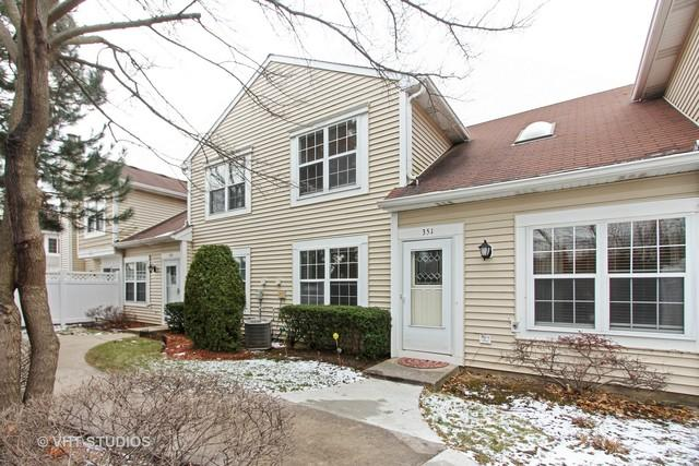 351 Le Parc Circle, Buffalo Grove, IL 60089 (MLS #09816438) :: The Schwabe Group