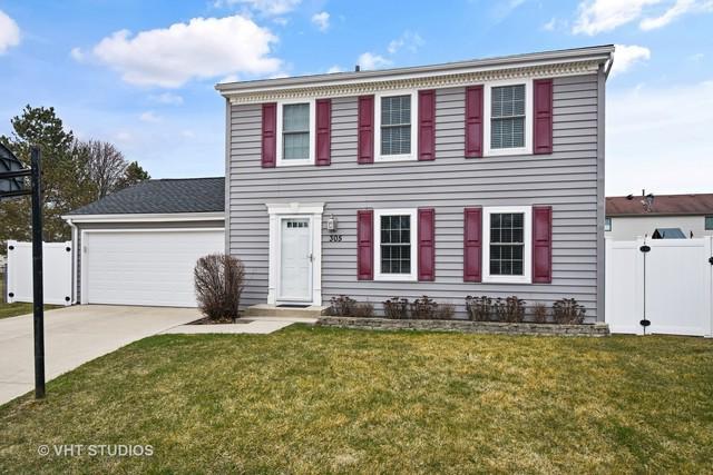 305 Alice Court, Vernon Hills, IL 60061 (MLS #09923095) :: Helen Oliveri Real Estate