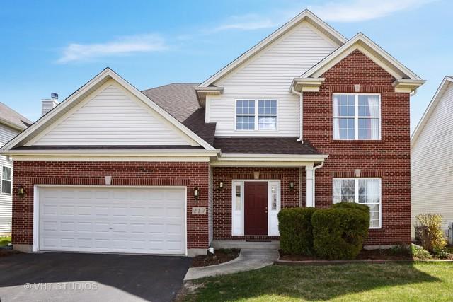 219 Hearthstone Drive, Bartlett, IL 60103 (MLS #09936743) :: Lewke Partners