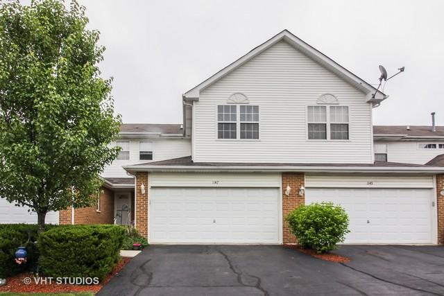 1147 Coventry Circle, Glendale Heights, IL 60139 (MLS #09988555) :: The Dena Furlow Team - Keller Williams Realty