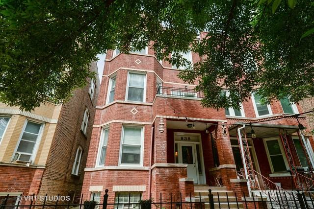 838 N Maplewood Avenue 3R, Chicago, IL 60622 (MLS #09992835) :: The Perotti Group