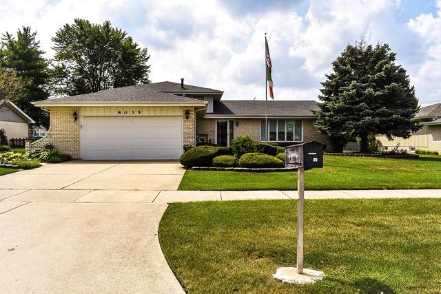 8035 Wheeler Drive, Orland Park, IL 60462 (MLS #10055553) :: The Jacobs Group