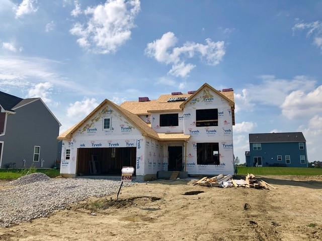 26444 W Winding Oak Lot#627 Trail, Channahon, IL 60410 (MLS #10056377) :: Lewke Partners