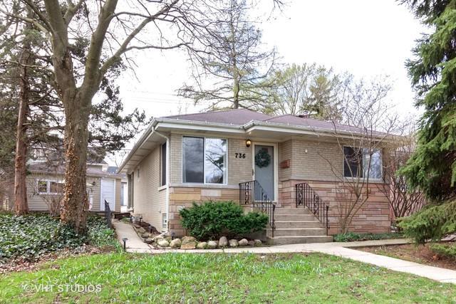 736 W Hinsdale Avenue, Hinsdale, IL 60521 (MLS #10340279) :: Century 21 Affiliated