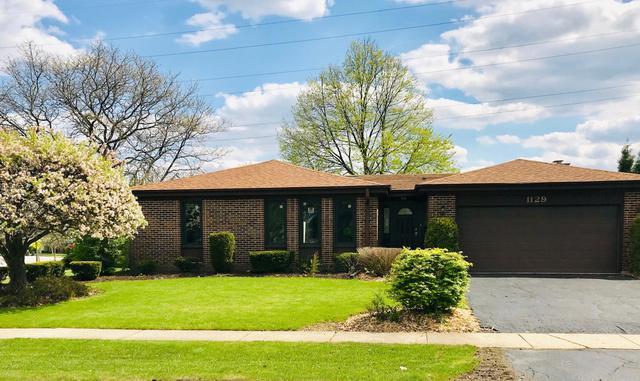 1129 E Carpenter Drive, Palatine, IL 60074 (MLS #10341459) :: Berkshire Hathaway HomeServices Snyder Real Estate