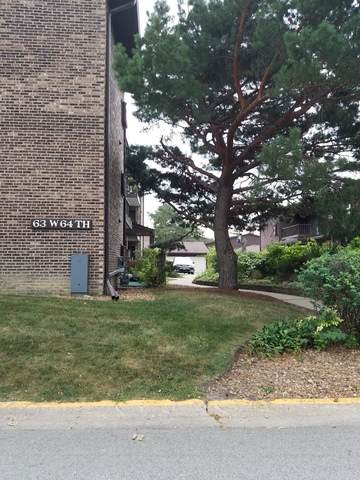 63 W 64th Street #204, Westmont, IL 60559 (MLS #10819234) :: John Lyons Real Estate