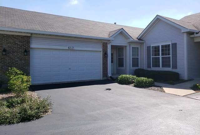 657 S Northland Way, Romeoville, IL 60446 (MLS #11014703) :: The Dena Furlow Team - Keller Williams Realty