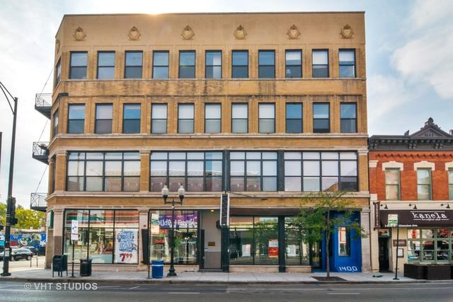 1400 N Milwaukee Avenue #402, Chicago, IL 60622 (MLS #09770021) :: The Perotti Group
