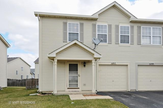 697 S Shannon Drive, Romeoville, IL 60446 (MLS #09920672) :: Lewke Partners