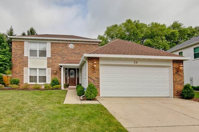24 E Canterbury Lane, Buffalo Grove, IL 60089 (MLS #10793150) :: John Lyons Real Estate