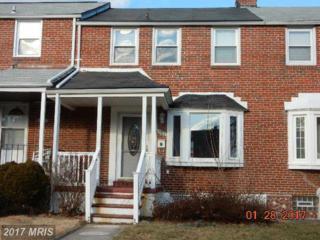 1926 Belvedere Avenue E, Baltimore, MD 21239 (#BA9859586) :: Pearson Smith Realty