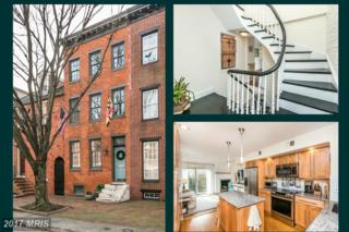 109 Hill Street W, Baltimore, MD 21230 (#BA9861234) :: Pearson Smith Realty