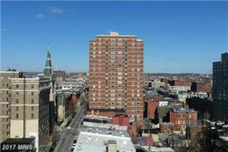1101 Saint Paul Street #1909, Baltimore, MD 21202 (#BA9919489) :: LoCoMusings