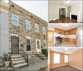 408 Parrish Street, Baltimore, MD 21223 (#BA9926333) :: Pearson Smith Realty