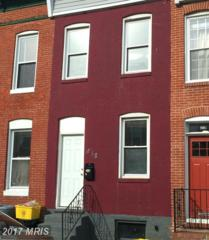 818 Woodward Street, Baltimore, MD 21230 (#BA9946932) :: Pearson Smith Realty