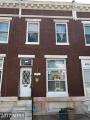 831 Luzerne N. Avenue, Baltimore, MD 21205 (#BA9952560) :: Pearson Smith Realty