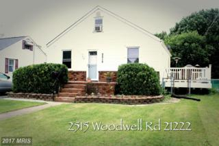 2515 Woodwell Road, Baltimore, MD 21222 (#BC9953988) :: Pearson Smith Realty