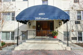 4803 Wellington Drive #4, Chevy Chase, MD 20815 (#MC9878421) :: LoCoMusings
