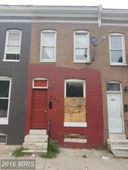 307 Franklintown Road, Baltimore, MD 21223 (#BA9782617) :: Pearson Smith Realty