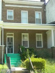 1507 Smallwood Street, Baltimore, MD 21216 (#BA9754462) :: Pearson Smith Realty