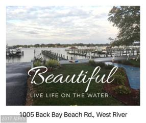 1005 Back Bay Beach Road, West River, MD 20778 (#AA9798927) :: LoCoMusings