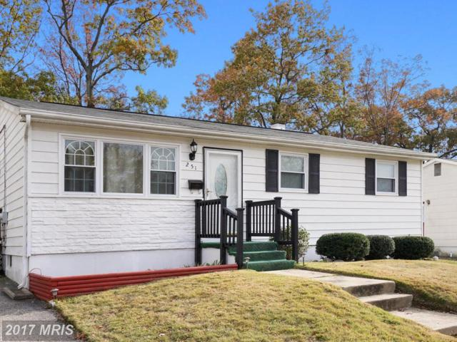 251 Ironshire S, Laurel, MD 20724 (#AA10093518) :: Keller Williams Pat Hiban Real Estate Group
