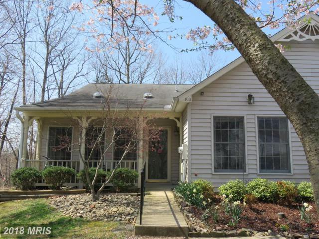 915 Topmast Way, Annapolis, MD 21401 (#AA10222055) :: Dart Homes